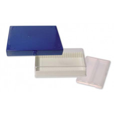 BPG009  Boite plastique blanche pour 25 lames 76x26mm Nahita