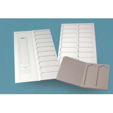 BPG005  Porte-lames carton 20 lames 400x200x7mm Nahita