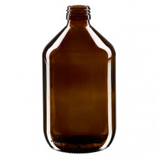 Medical bottle 500 ml amber colour, PP 28